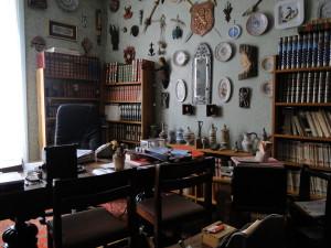 Lo studio di Jean Le Boulch a Dinard